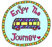 Enjoy the Journey! by thehippievegan