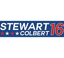 Stewart/Colbert 2016 Photographic Print