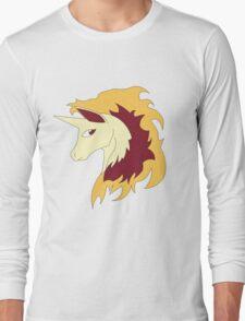 Abstract Rapidash Pokemon Long Sleeve T-Shirt