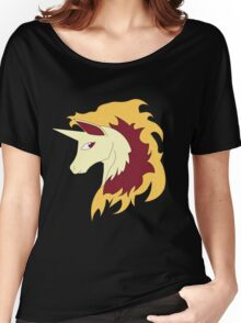 Abstract Rapidash Pokemon Women's Relaxed Fit T-Shirt