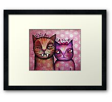 We Were Born 2 b Friends - art by ANGIECLEMENTINE Framed Print