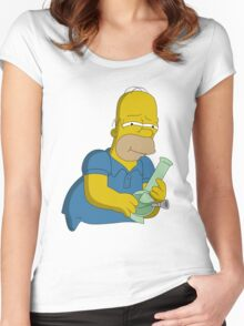 HIGHMER SIMPSON Women's Fitted Scoop T-Shirt