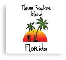 Three Rooker Island Florida. Canvas Print