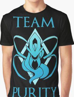 Team Purity - Black Graphic T-Shirt