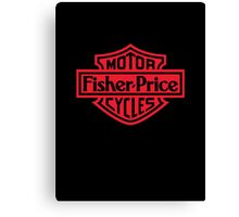 Fisher Price Motor Cycles Canvas Print