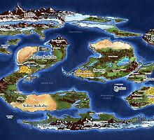 Ramathian World Map by iversia