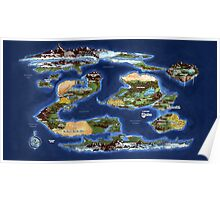 Ramathian World Map Poster