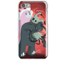 Bear Hugging Me to Death iPhone Case/Skin
