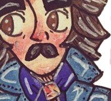 George Harrison doodly sticker Sticker