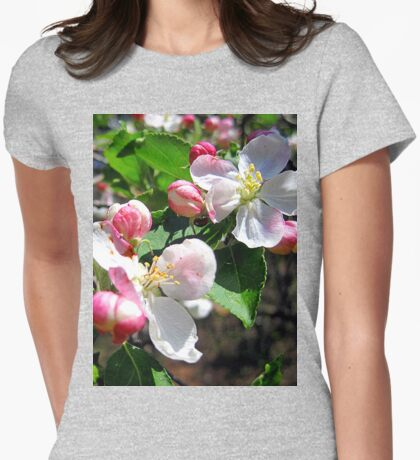 sweetness of spring Womens Fitted T-Shirt