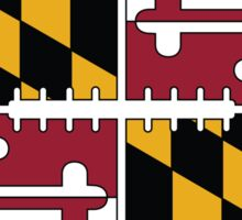 Maryland Football Sticker