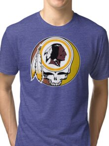 Redskins Grateful Dead Tri-blend T-Shirt