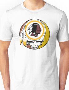 Redskins Grateful Dead Unisex T-Shirt