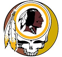 Redskins Grateful Dead Photographic Print