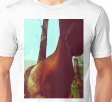 Horse at the Zoo Unisex T-Shirt