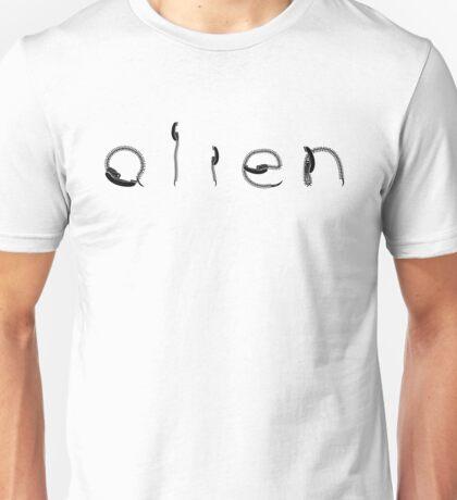 Alien - Burster - Black Vr. Unisex T-Shirt