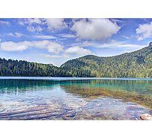 Mount Rainier Lake S1 Photographic Print
