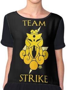 Team Strike - Black Chiffon Top