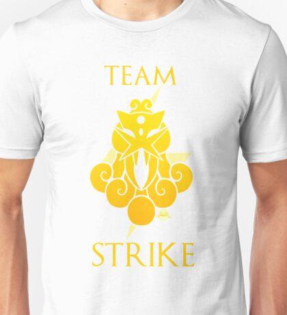 Team Strike - White Unisex T-Shirt