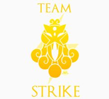 Team Strike - White Unisex T-Shirt