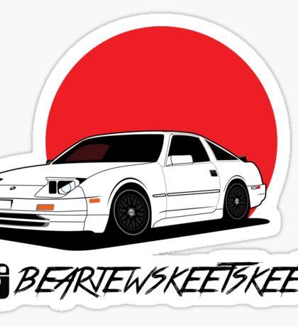 @bearjewskeetskeet z31 Sticker - Front Sticker