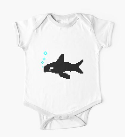 Pixel Orca One Piece - Short Sleeve