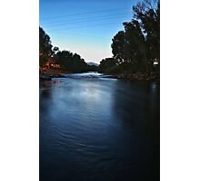 Blue Arkansas River Photographic Print