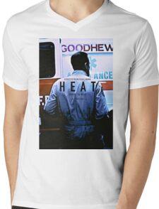 HEAT 4 Mens V-Neck T-Shirt