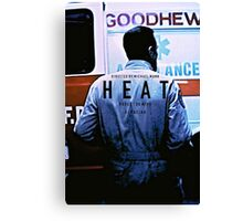HEAT 4 Canvas Print