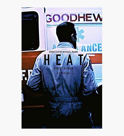 HEAT 4 Photographic Print