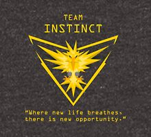 Team Instinct - Where new life breathes there is new opportunity. Unisex T-Shirt
