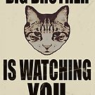 Orwellian Cat is Watching You by Margaret Bryant