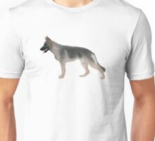 German Shepherd: Tan Sable Unisex T-Shirt