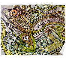Iguana Go Home Poster