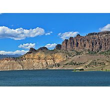 Blue Mesa Reservoir Photographic Print