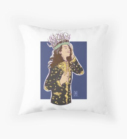 Witch King Throw Pillow