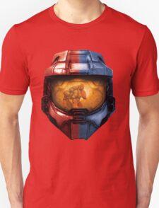 Red vs Blue Helmet Unisex T-Shirt