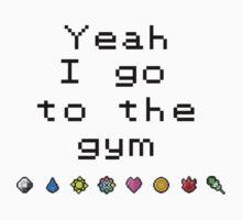 Pokemon gym- Kanto Kids Tee