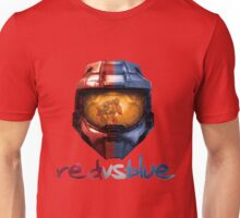 Red vs Blue Helmet with Logo Unisex T-Shirt