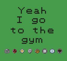 Pokemon gym- Johto Kids Tee