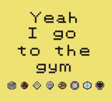 Pokemon gym- Johto Baby Tee