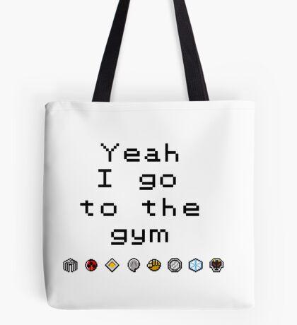 Pokemon gym- Johto Tote Bag