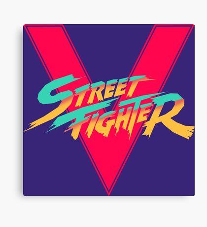 Super Street Fighter Five, 2: Turbo Impact Canvas Print
