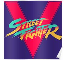 Super Street Fighter Five, 2: Turbo Impact Poster