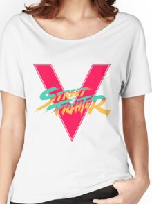 Super Street Fighter Five, 2: Turbo Impact Women's Relaxed Fit T-Shirt