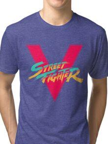 Super Street Fighter Five, 2: Turbo Impact Tri-blend T-Shirt