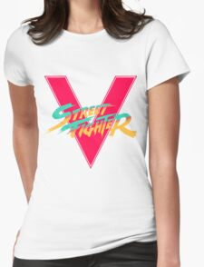 Super Street Fighter Five, 2: Turbo Impact Womens Fitted T-Shirt