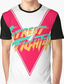 Super Street Fighter Five, 2: Turbo Impact Graphic T-Shirt