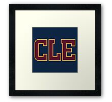 cleveland cavaliers NBA Framed Print