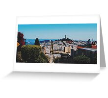 Lombard St Greeting Card